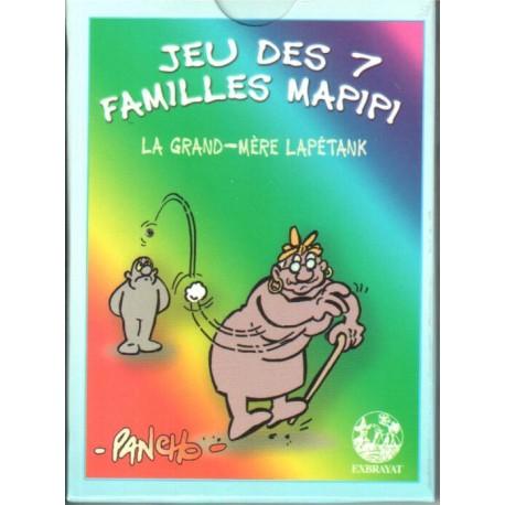 Jeux de cartes des 7 familles - Mapipi