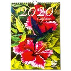 Calendrier spirale Artistique 2020
