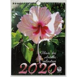 Calendrier spirale Fleurs 2020