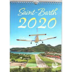 Calendrier Spirale Saint Barthélémy 2020