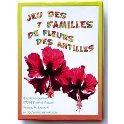 Jeux de cartes des 7 familles - fleur