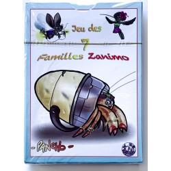 Jeux de cartes des 7 familles - Zanimo
