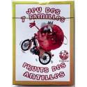 Jeux de cartes des 7 familles - fruits