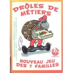 Jeux de cartes des 7 familles - Drôle de Métiers